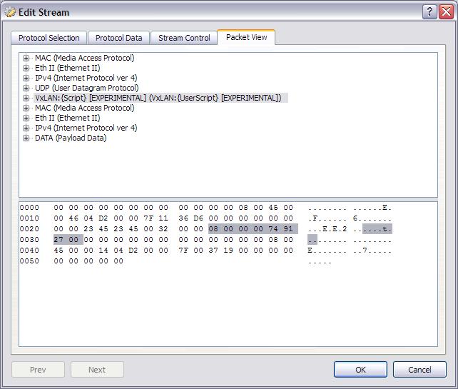 VxLAN user script