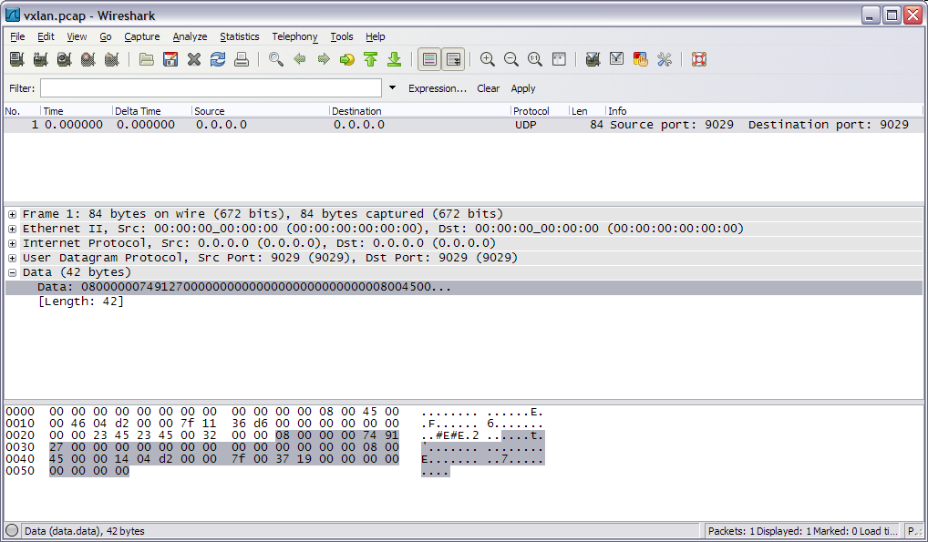 Analyzing VxLAN packets using Wireshark - Srivats P